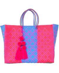 Soi 55 Lifestyle - Lolita Beach Bag / Rosa - Lyst