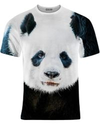 Aloha From Deer - Panda T-shirt - Lyst