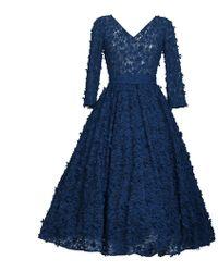 MATSOUR'I - Cocktail Dress Jasmin Blue - Lyst