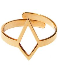 Dutch Basics | Ruit Adjustable Knuckle Ring Small Gold | Lyst