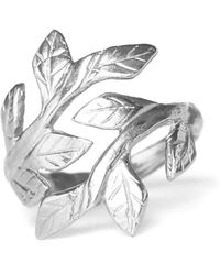 Chupi - Wrap Your Laurels Around Me Ring Silver - Lyst