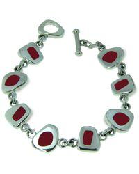 Jan D - Red Resin Bracelet - Lyst