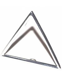 J.Y. GAO | Triangle Stacking Ring | Lyst