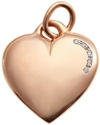 Kaizarin True Love Pendant Engravable In Rose Gold