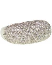 Ri Noor - Diamond Bar Ring - Lyst