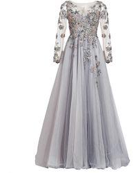 MATSOUR'I - Couture Dress Charleen Gray - Lyst