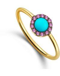 Elham & Issa Jewellery - Awe Pink Ring - Lyst