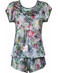 StephieAnn - Silk Pyjamas - Lyst