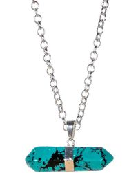 Tiana Jewel - Goddess Turquoise Necklace Siena Collection - Lyst