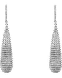 LÁTELITA London - Athena Spiral Earrings Silver - Lyst