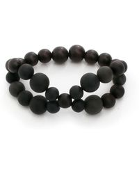 Hring Eftir Hring - Pirouette Coal Bracelet - Lyst