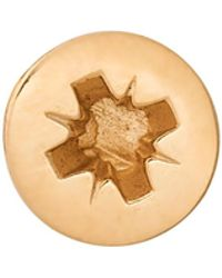 Edge Only - Phillips-head Screw Lapel Pin Gold - Lyst