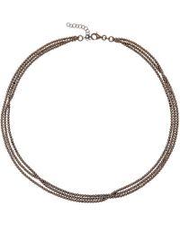 Durrah Jewelry - Graphite Dream Necklace - Lyst