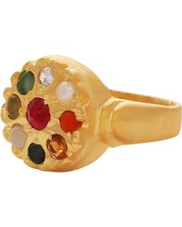 Carousel Jewels - Chakra Style Circular Statement Ring - Lyst