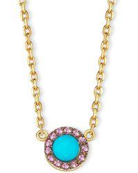 Elham & Issa Jewellery - Awe Pink Necklace - Lyst