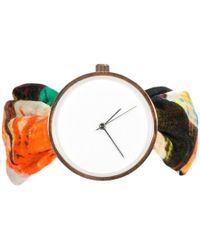 May28th - 04:26pm Colourful Pattern Silk Watch - Lyst