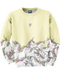 Aloha From Deer - Unicorn Sweatshirt - Lyst