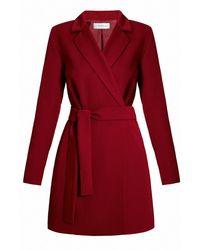 UNDRESS - Efimero Mini Red Tailored Blazer Dress - Lyst
