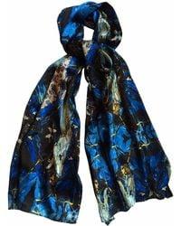 Jennifer Rothwell - Blue Madeline Print Silk Scarf - Lyst