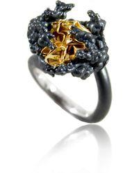 Karolina Bik Jewellery - Naphtha Tall Ring - Lyst