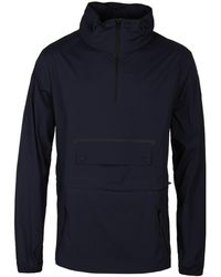 Belstaff - Navy Overhead All-weather Vapour Cagoule - Lyst