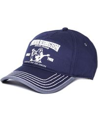 True Religion - Navy Buddha Cap - Lyst
