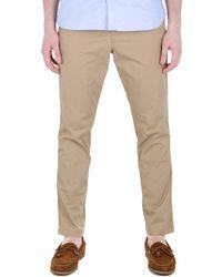 Polo Ralph Lauren - Classic Fit Beige Trouser - Lyst