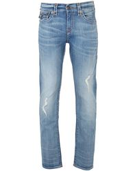 True Religion - Geno Super T Fbtm Worn Prospect Slim Fit Jeans - Lyst