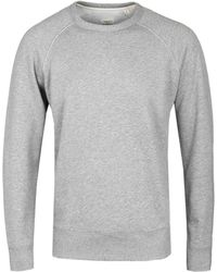Rag & Bone - Heather Grey Standard Issue Crew Neck Jumper - Lyst