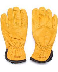 Filson - Tan Original Lined Goatskin Gloves - Lyst