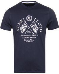 Henri Lloyd - Ackley Navy T-shirt - Lyst