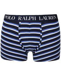 Polo Ralph Lauren | Blue Stripe Trunk Boxers | Lyst