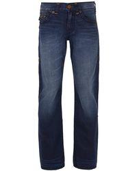 True Religion Ricky Flap Super T Eewd Blue Mariner Jeans