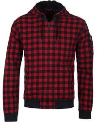Polo Ralph Lauren - Red Hood Racing Bomber Sweatshirt - Lyst