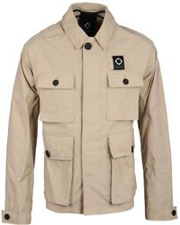 Ma.strum | Charioteen Sand Bomber Field Jacket | Lyst