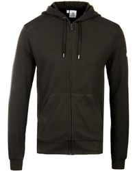 Pyrenex - Khaki Pique Imatra Hooded Zip Jumper - Lyst