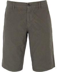 BOSS Orange - Schino Slim Fit Military Green Chino Shorts - Lyst