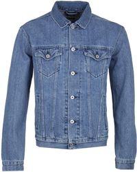 Edwin - High Road Stone Wash Denim Jacket - Lyst