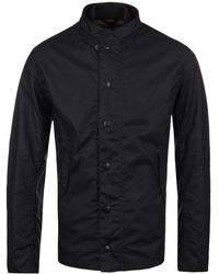 Barbour - Heritage Ash Navy Wax Jacket - Lyst