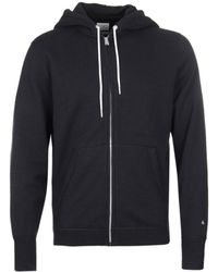 Rag & Bone - Black Classic Zip-up Hoodie - Lyst