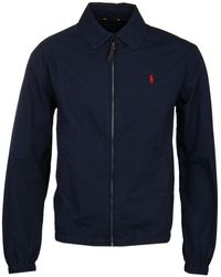 Polo Ralph Lauren - Bayport Navy Harrington Jacket - Lyst