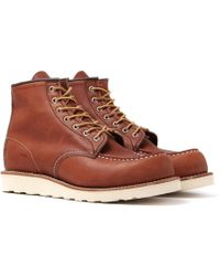 Red Wing - 6 Inch Classic Moc Boots - Lyst