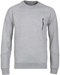 Henri Lloyd - Kinetics Grey Marl Technical Sweatshirt - Lyst