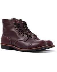 """Red Wing - 6"""" Iron Ranger Oxblood Boots - Lyst"""