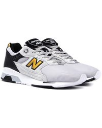 New Balance - 1991 Made In England Grey Suede Trainers - Lyst
