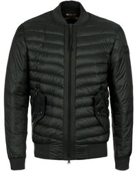 True Religion | Night Green Light Weight Bomber | Lyst
