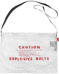 Undercover - Caution Polyethylene Bag - Lyst