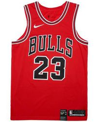 on sale 16cd4 767e9 Nike - Michael Jordan Chicago Bulls  icon Edition  Jersey - Lyst