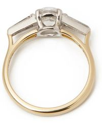 Theo Fennell - 18k Yellow Gold Diamond Ring - Lyst