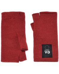 Y-3 - Logo Gloves - Lyst